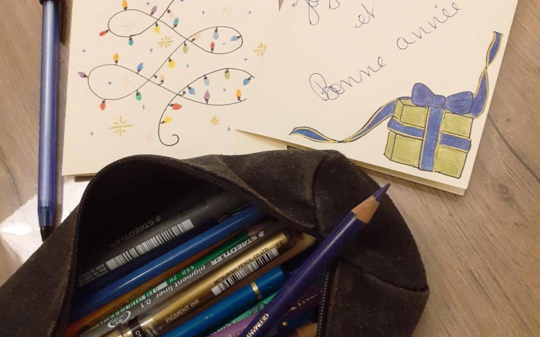 Des cartes de vœux pour lutter contre la solitude