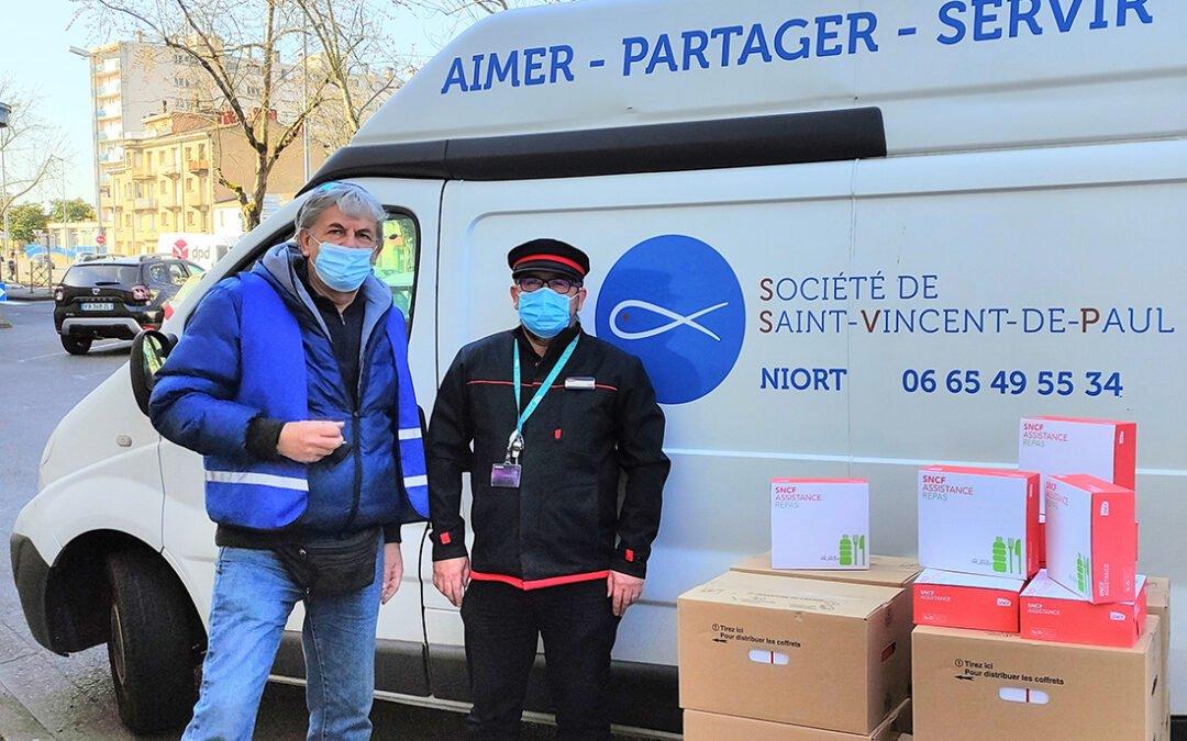 200 paniers repas offerts par la SNCF