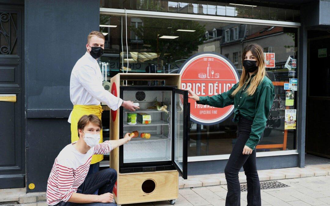 Un deuxième frigo solidaire inauguré à Reims